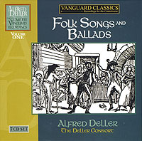 FOLK SONGS and BALLADS: Alfred Deller and the Deller Consort - 7CD