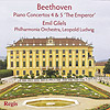 BEETHOVEN: Piano Concertos 4 & 5 'The Emperor