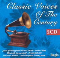 CLASSIC VOICES OF THE CENTURY 2CD