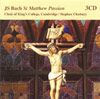 BACH: St Matthew Passion 3CD