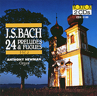 BACH: 24 Preludes and Fugues, Vol. 2 - 2CD
